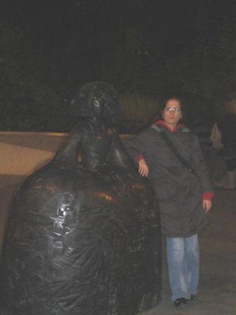 Exposición del escultor Manolo Valdés en Caixa Forum, Madrid-Meninas
